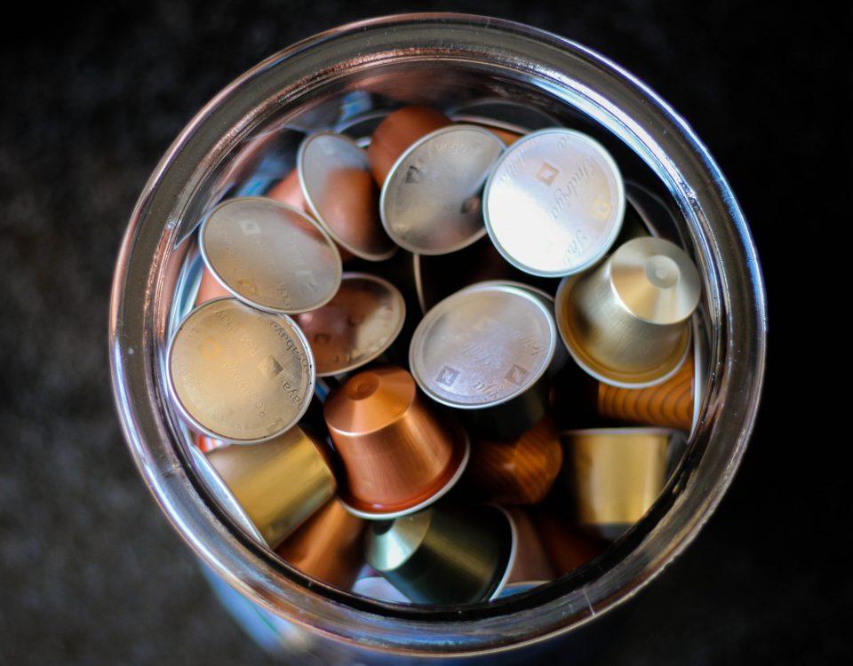 dove si gettano le cialde e le capsule del caffè