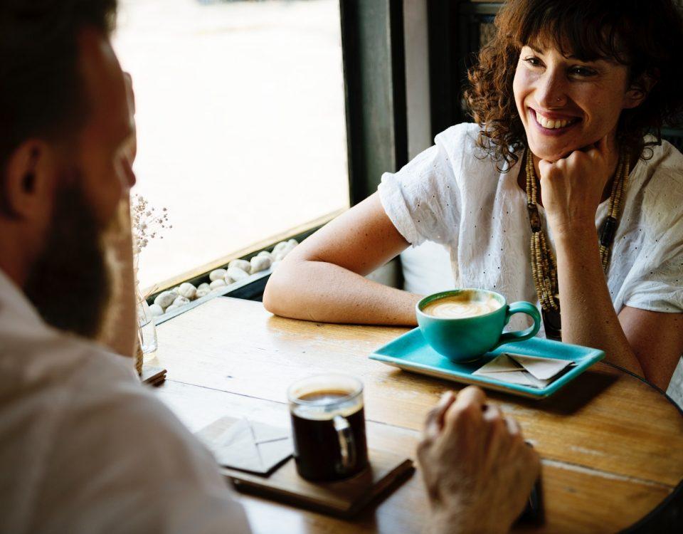 il caffè fa sorridere